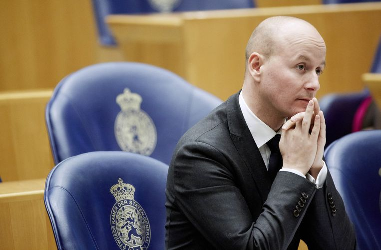Voormalig Kamerlid Mark Verheijen van de VVD. Beeld anp