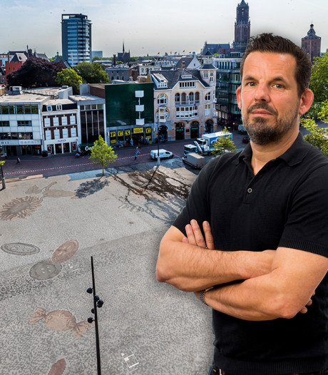 Het nieuwe Vredenburgplein is een inspiratie... voor columnisten en satirici