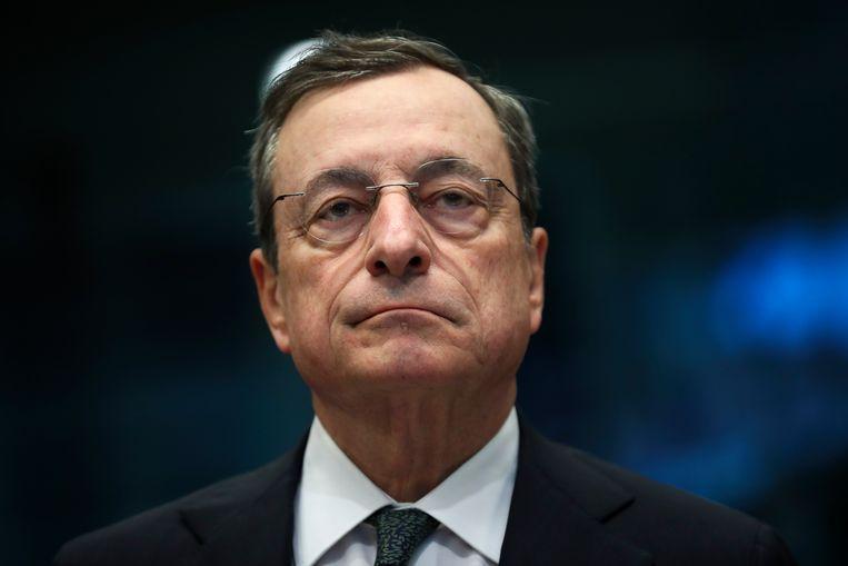 Mario Draghi. Beeld AP