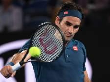 Federer overleeft voor 20ste keer eerste ronde in Melbourne