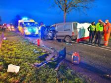Ernstig ongeval in Bladel: twee auto's botsen bij oversteek op Rondweg