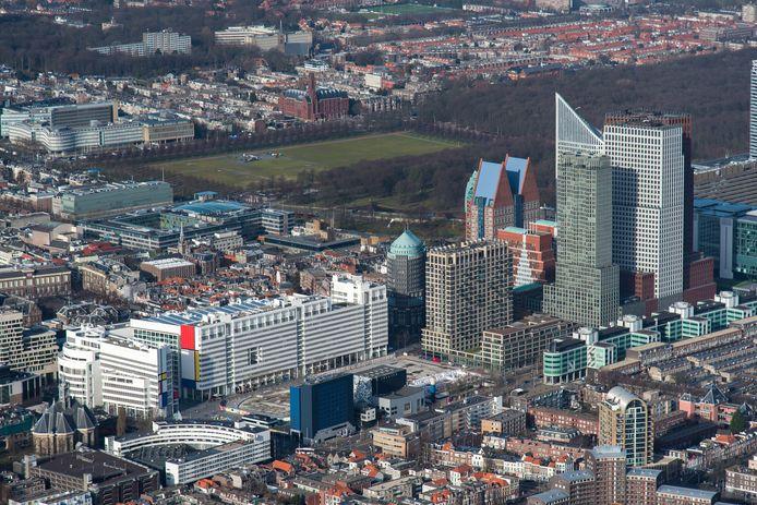 Beeld ter illustratie: luchtfoto van Den Haag