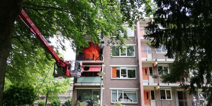 De uitslaande woningbrand in Doorwerth