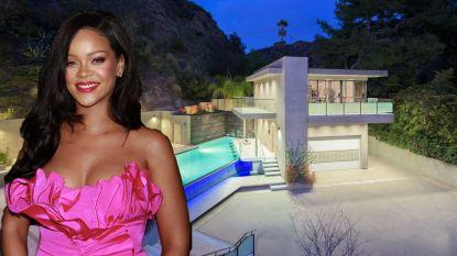 BINNENKIJKEN. Rihanna zet haar villa te koop na 12 uur lang bezoek van stalker