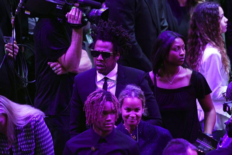 Jay-Z is ook aanwezig