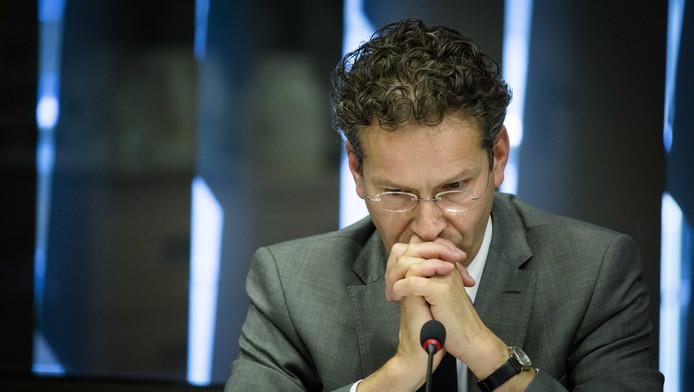 Minister van Financiën en voorzitter van de eurogroep Jeroen Dijsselbloem