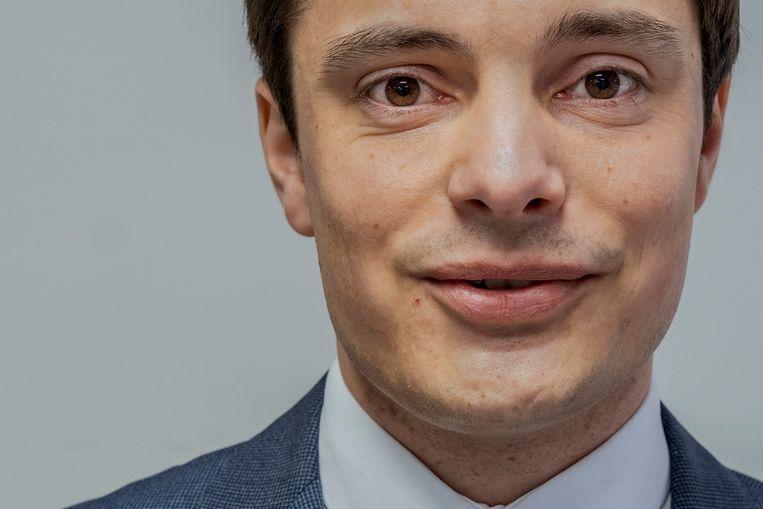 CDA-wethouder Klaas Valkering, motor achter de oproep aan het landelijk CDA om vijfhonderd weeskinderen uit Griekse vluchtelingenkampen op te nemen. Beeld Patrick Post