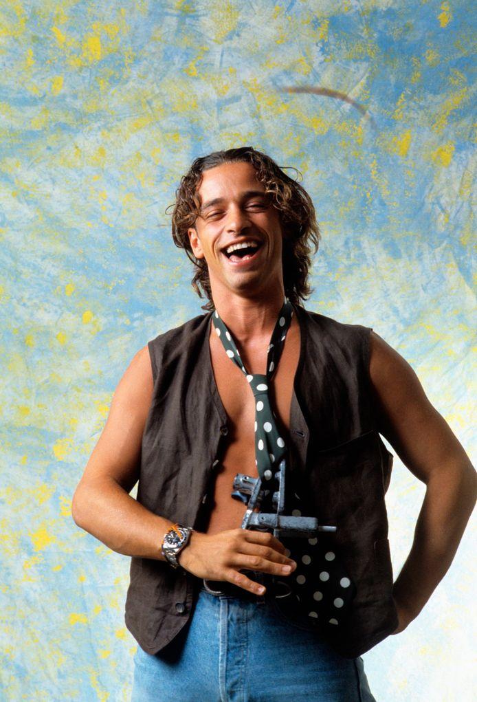 Eros Ramazzotti in zijn jongere jaren.