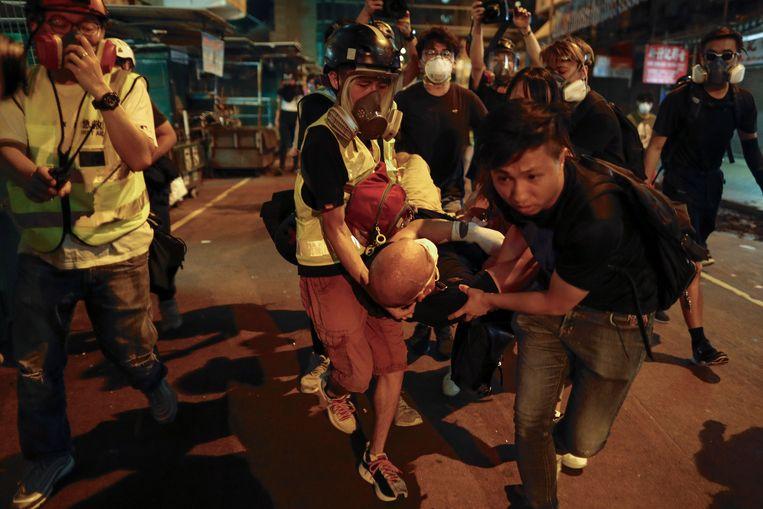 De gemoederen blijven verhit in Hongkong.