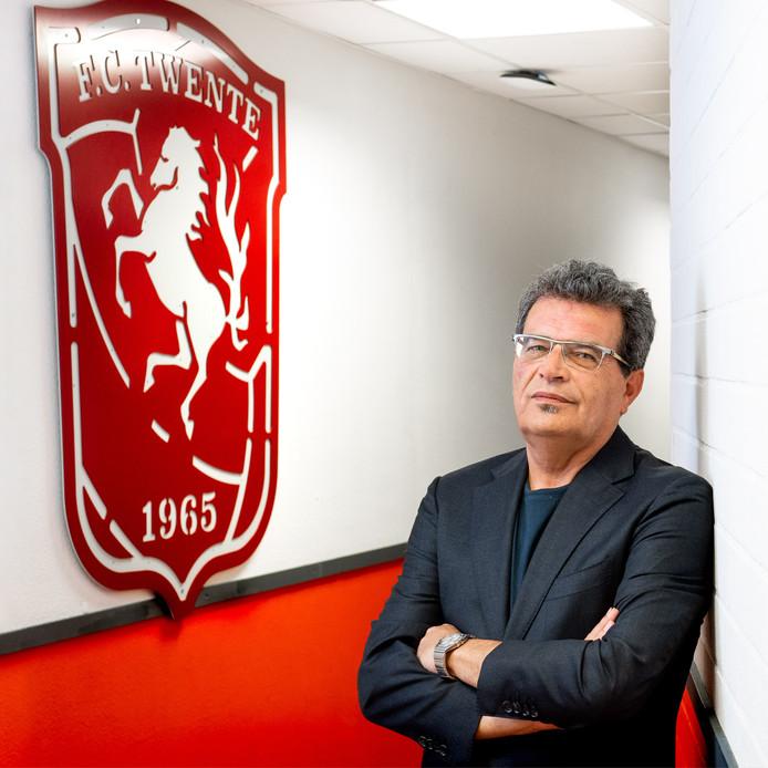 Technisch directeur van FC Twente, Ted van Leeuwen.