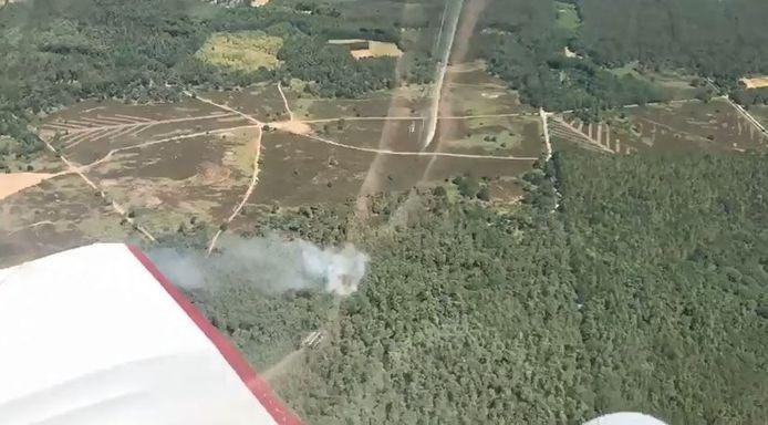 Natuurbrand in Rucphen