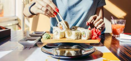 Correct sushi eten doet u zo