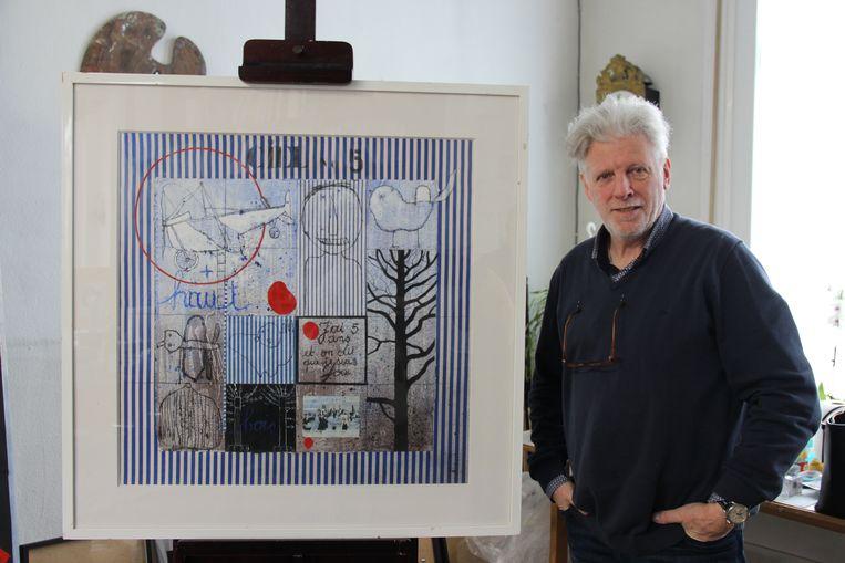 Christian Silvain wordt al dertig jaar gekopieerd door een Chinese kunstenaar.