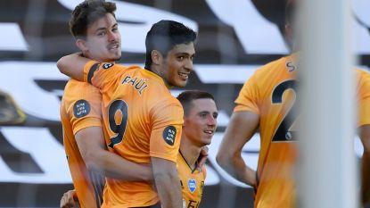Dendoncker scoort tegen Everton z'n vierde van het seizoen, Wolverhampton blijft op Europese koers