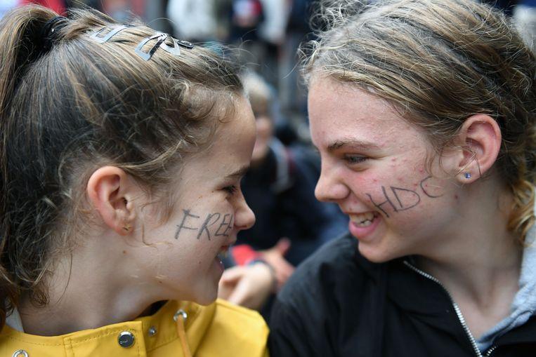 De leerlingen hebben nog steeds veel vragen over de geplande fusie tussen Leuvense scholen.