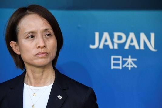 De coach van Japan Asako Takakura.