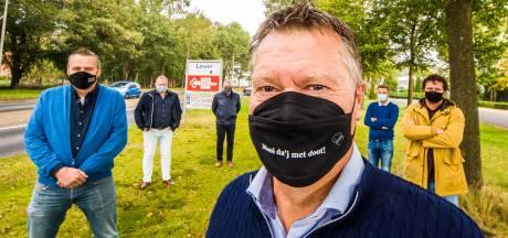Het coronavirus indammen met Losserse mondmaskers: 'Mooi da'j met doot!'
