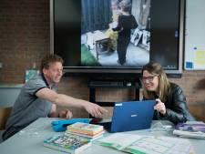 Jumbo-filmpje maken in plaats van huiswerk bij basisschool in Acht