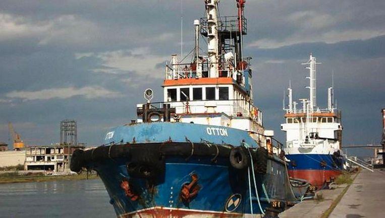 In de wrakke zeesleper Otton werden 35 balen met elk dertig kilo coke verstopt. Beeld Justitie