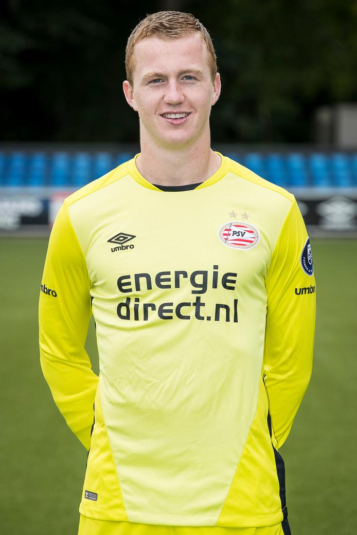 Het grote voorbeeld van Yanick van Osch is huidig PSV-goalie Jeroen Zoet.