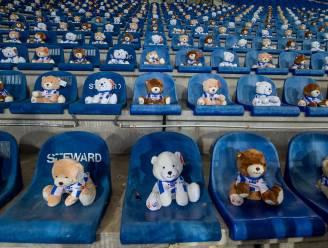 Hartverwarmende actie in Nederland: 15.000 knuffelberen op tribune om kankerpatiëntjes te steunen