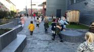 Twee nieuwe speelplaatsen voor kleuters en leerlingen 'Aan de Basis'