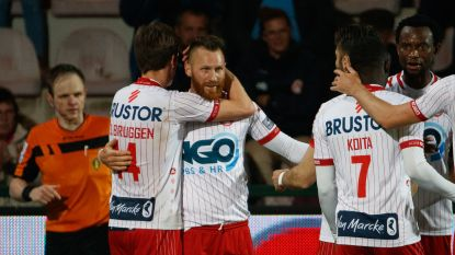 LIVE. KV Kortrijk ziet Avenatti al héél vroeg uitvallen, maar Ezekiel scoort bij eerste baltoets