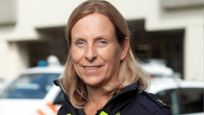 Gerda van Leeuwen, de nieuwe politiechef in Zeeland-West-Brabant.