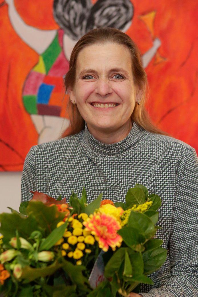 Evelyn Willems werd onderscheiden als Lid in de Orde van Oranje-Nassau.