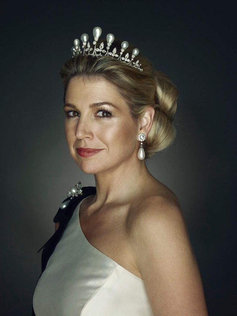 HRH Princess Maxima, 2011. Aankoop met steun van de BankGiro Loterij, 2018 Beeld Erwin Olaf