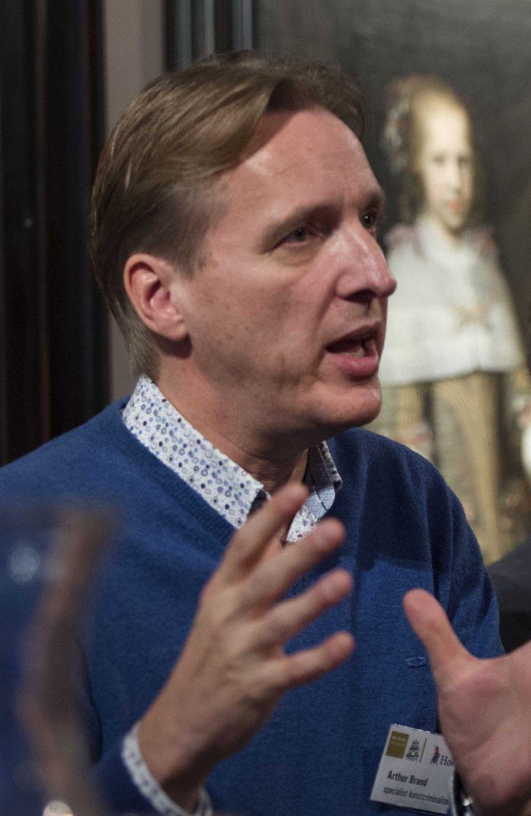 Arthur Brand, expert op het gebied van kunstcriminaliteit. Beeld ANP