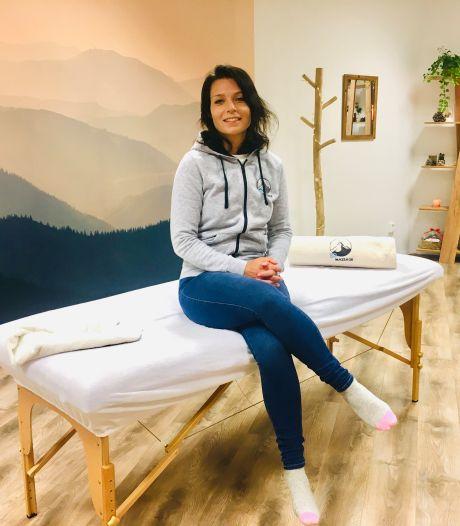 Sanne van den Berg heeft een eigen massagesalon: 'Ik wil de bekendste in de Hoeksche Waard worden'