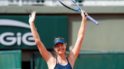 Sharapova naar derde ronde - Duitser Gojowczyk krijgt boete na snelle opgave op Roland Garros - Flipkens door in dubbelspel, Mertens niet