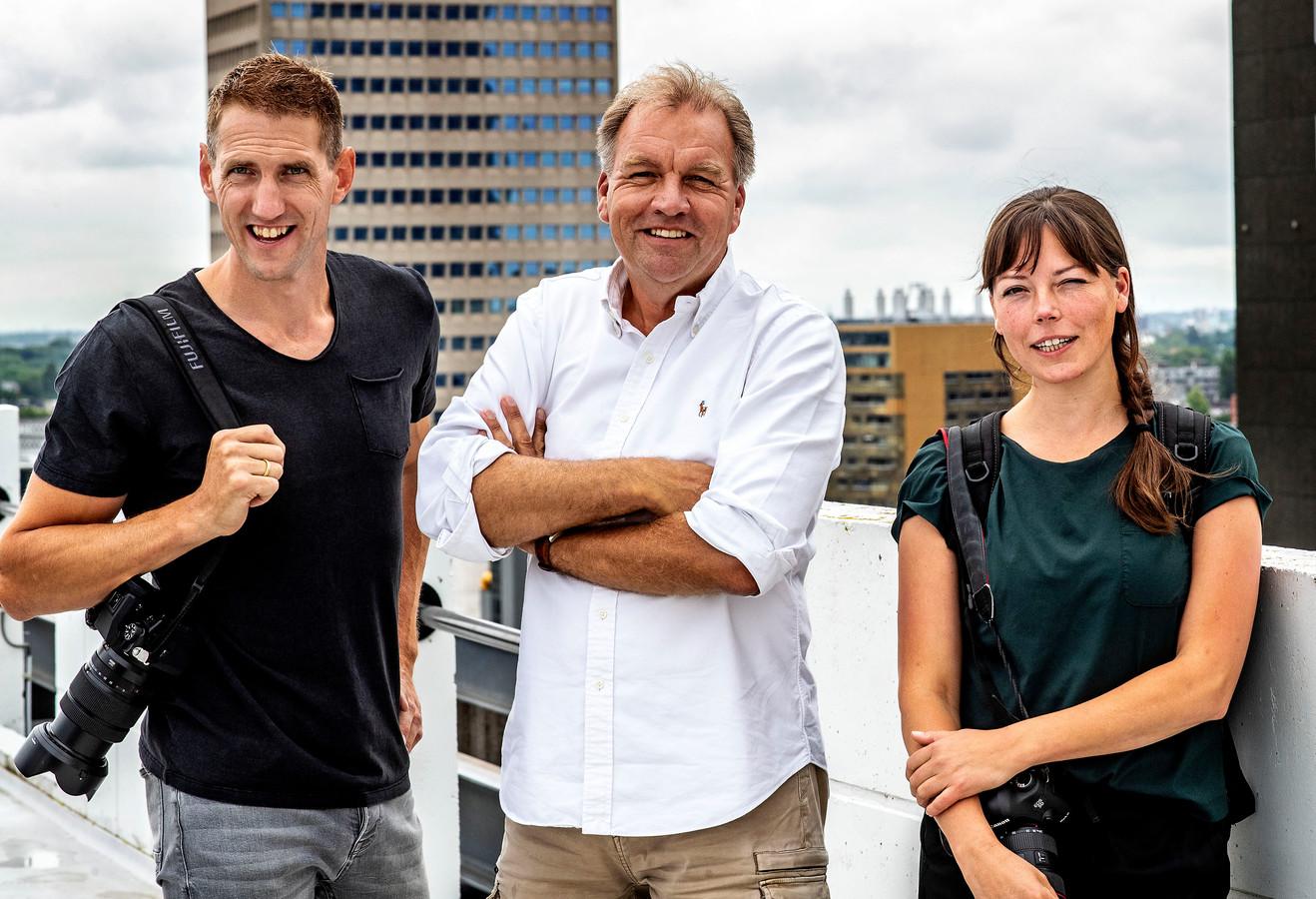 Joost Hoving, Pim Ras en Sanne Donders
