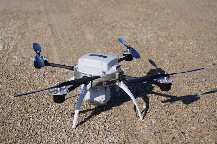 Cerrudo testte het systeem met behulp van een commercieel verkrijgbare drone. Beeld reuters