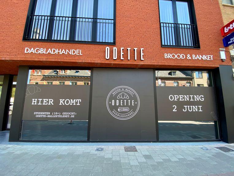 'Odette' combineert een dagbladhandel met een B-postpunt en brood & banket