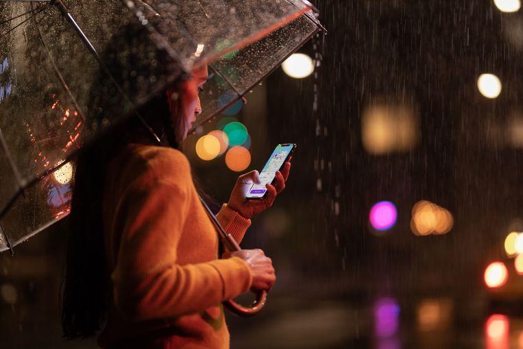 De iPhone XS Max.