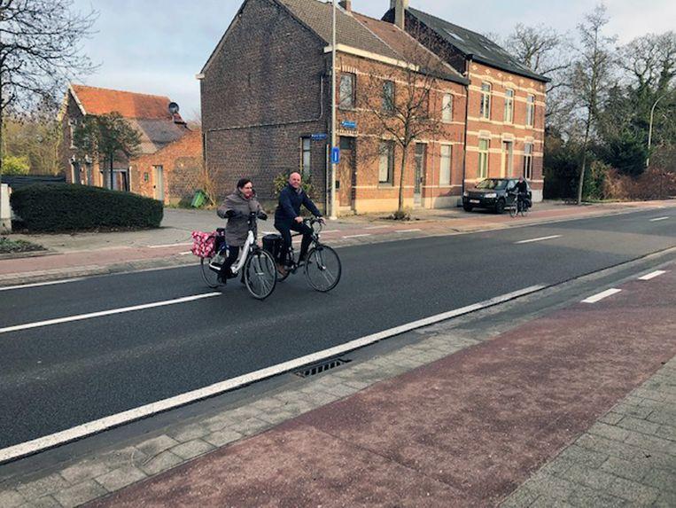 De veilige fietsoversteekplaats op de Aarschotsesteenweg in Wilsele ter hoogte van de JB Vanderelstsstraat komt er niet.