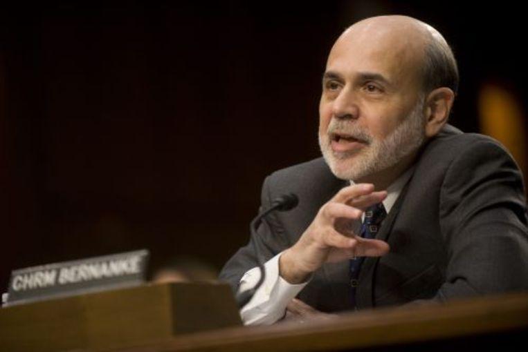 Ben Bernanke. EPA Beeld