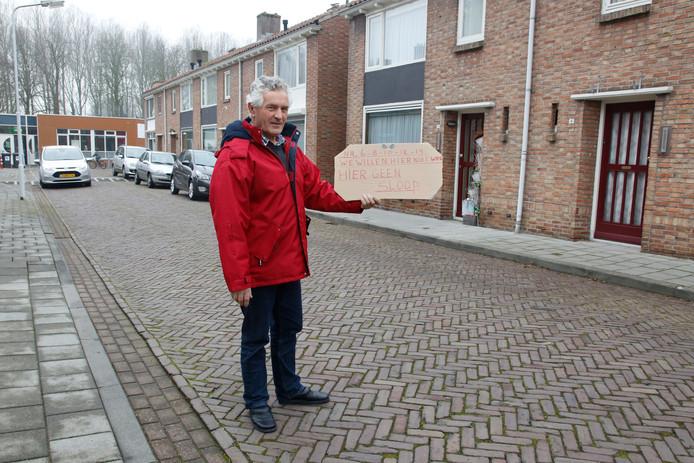 Woongoed gaat slopen in de Zuidstraat in Aardenburg. Dat leverde eerder protest van bewoners op.
