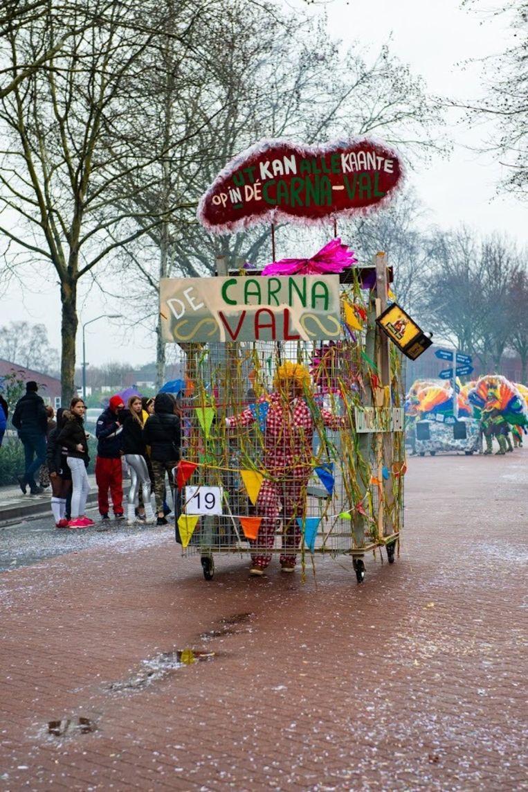 Ook in grensdorp Baarle-Hertog kan men in de carnavalsperiode terecht voor een carnavalsoptocht.