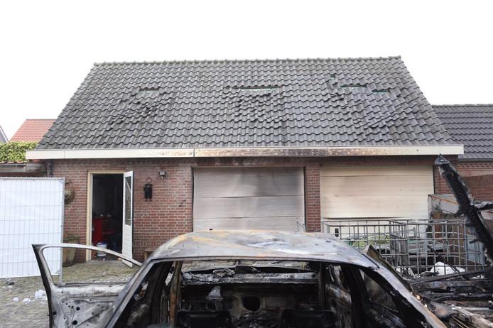 Brand in camper aan Doornbos in Reusel