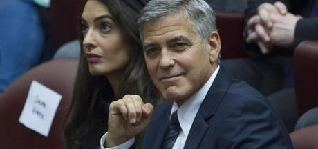 George Clooney helemaal klaar voor tweelingavontuur