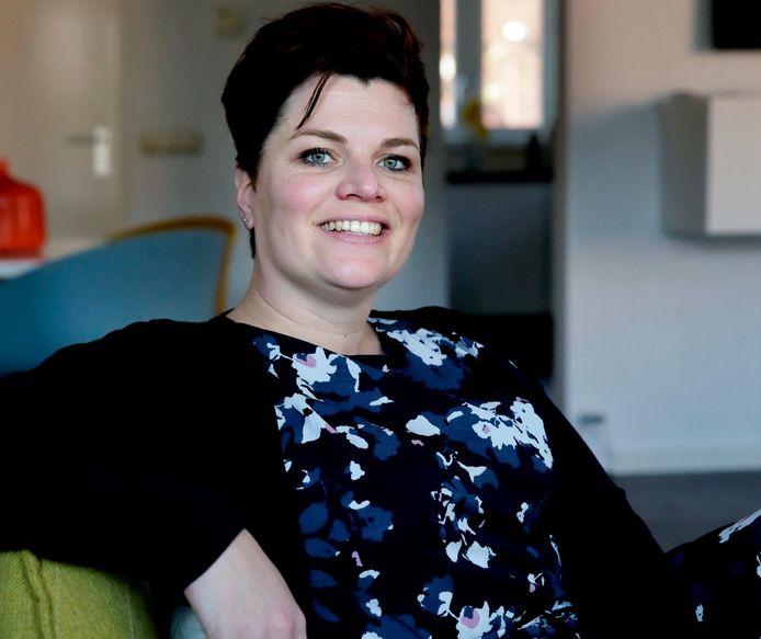 Wethouder Dorien Zandvliet van Alblasserdam.