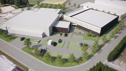 Uitbreiding Sporthal Laarne start op 4 december en opening is voorzien in de zomer van 2020