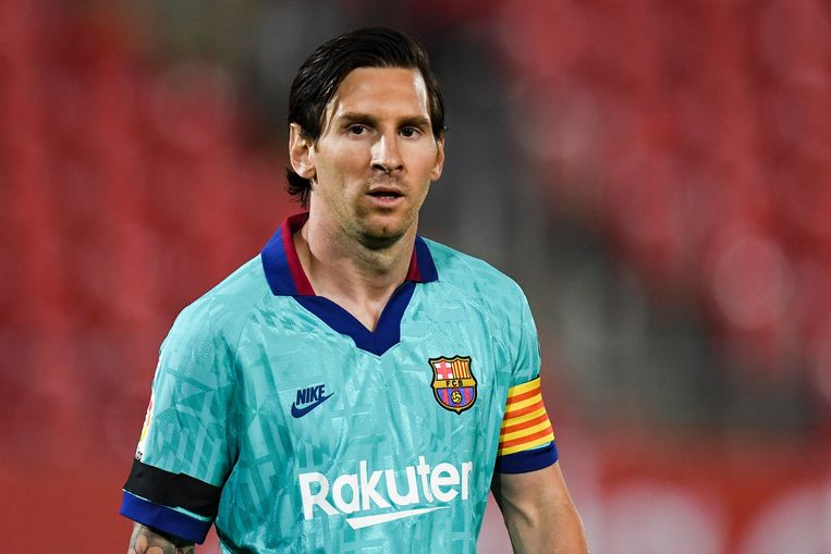Lionel Messi Beeld Getty Images