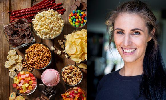 Zoute en zoete snacks, verleidelijk in coronatijden.