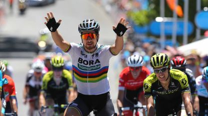 Peter Sagan slaat in bloedhete temperaturen dubbelslag in Tour Down Under