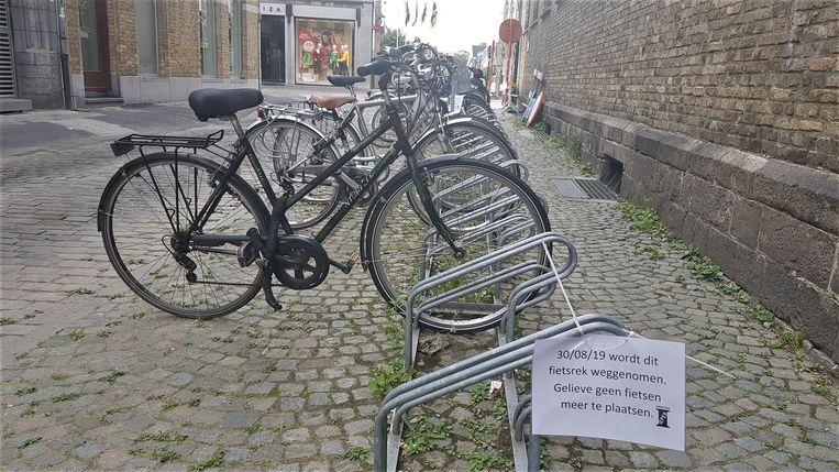 Dit fietsrek verdwijnt even.