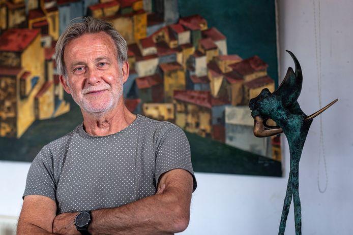 Beeldhouwer Leon Veerman uit Bodegraven